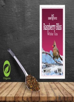 Organic Raspberry Bliss White Tea