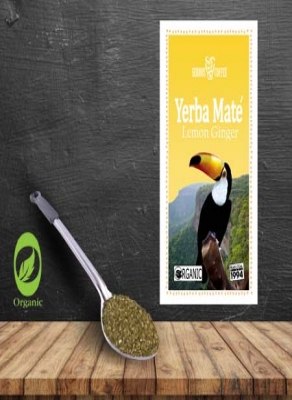 Organic Yerba Mate - Lemon Ginger