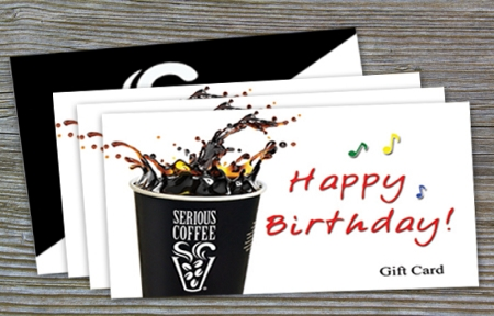 'Happy Birthday' Gift Card