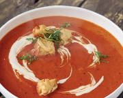 Tomato Roasted Red Pepper Bisque