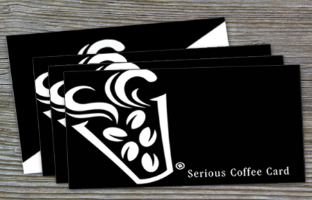Serious Coffee Card